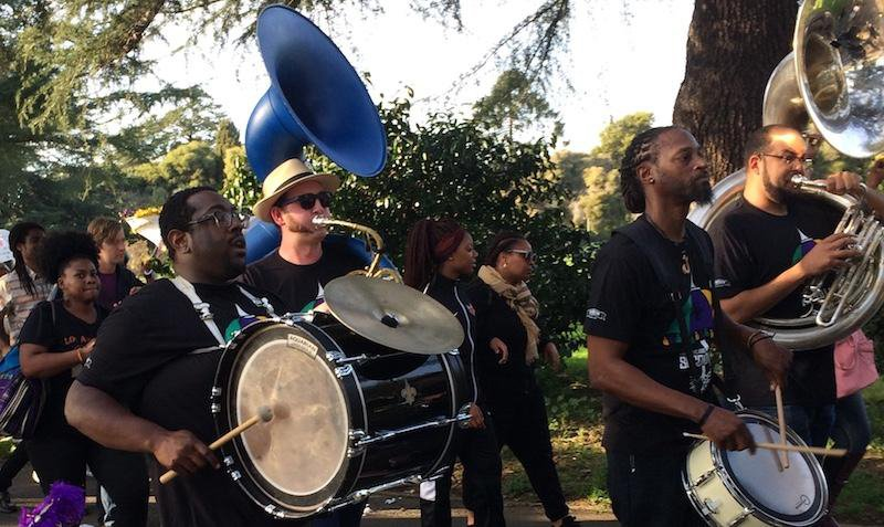 Oakland Secondline Project - MJ's Brass Boppers