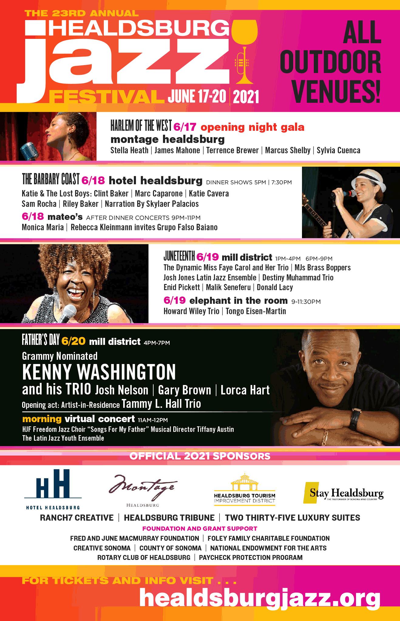Healdsburg Jazz Festival - 2021
