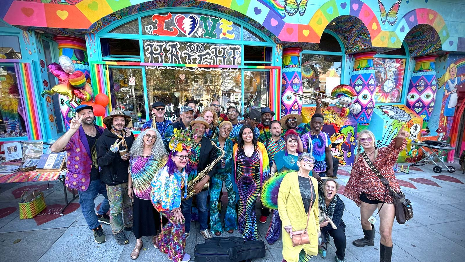 Love on Haight - MJ's Brass Boppers